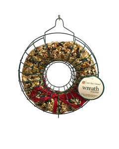 Seed Wreath Feeder