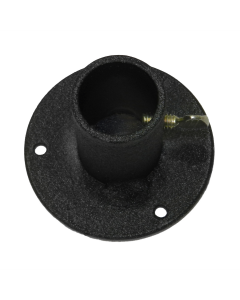 "Round Flange for 1"" Pole; Thumbscrew"