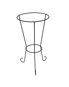 "14"" Tall Decorative Bird Bath Stand"