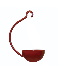 Red Single Cup Hanging Feeder