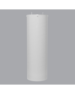 4x4 White Raccoon Baffle