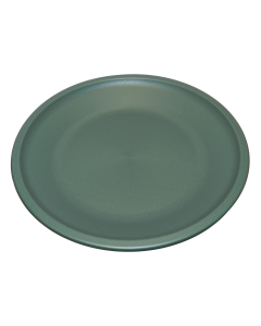 "Green 20"" Plastic Bird Bath Dish"