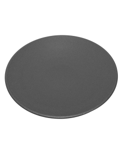 "Black 20"" Metal Bird Bath Dish"