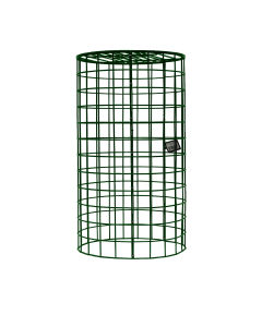 """2"""" Dual Lid Tube Feeder Cover w/ Metal Tray-UNASSEMBLED"""