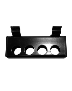 Slatwall APS 4 Hole Holder Across