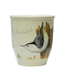 White Breasted Nuthatch Mug