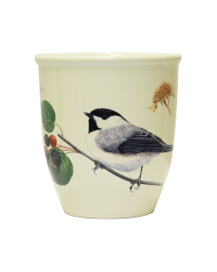 Black Capped Chickadee Mug